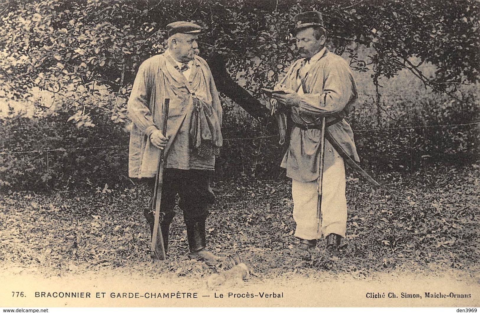 Braconnier Et Garde-Champêtre - Le Procès-Verbal - Cliché Simon Maîche-Ornans N'776 - Cecodi N'B 108 - Frankreich
