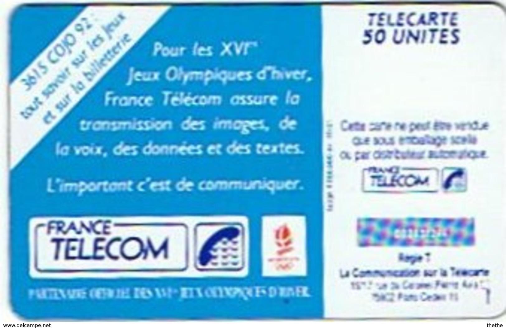 Ski Acrobatique -  J.O. D'Hiver 1992 - Olympische Spelen