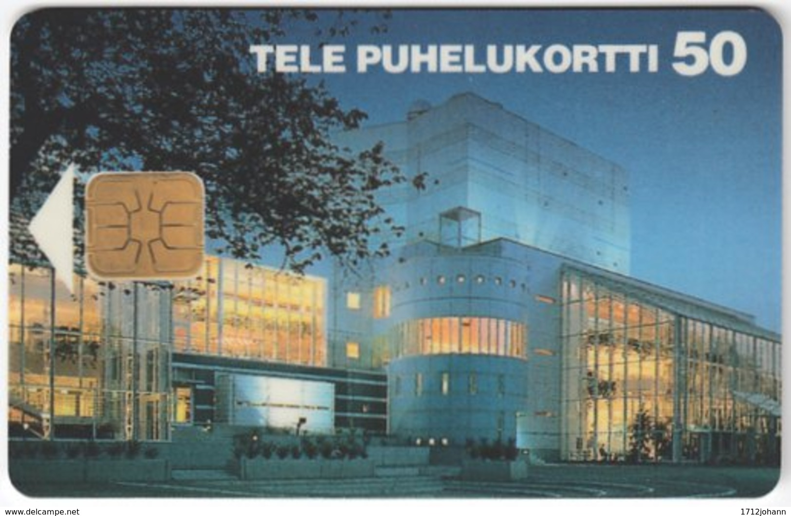 FINLAND A-823 Chip Tele - Archictecture, Building - Used - Finnland