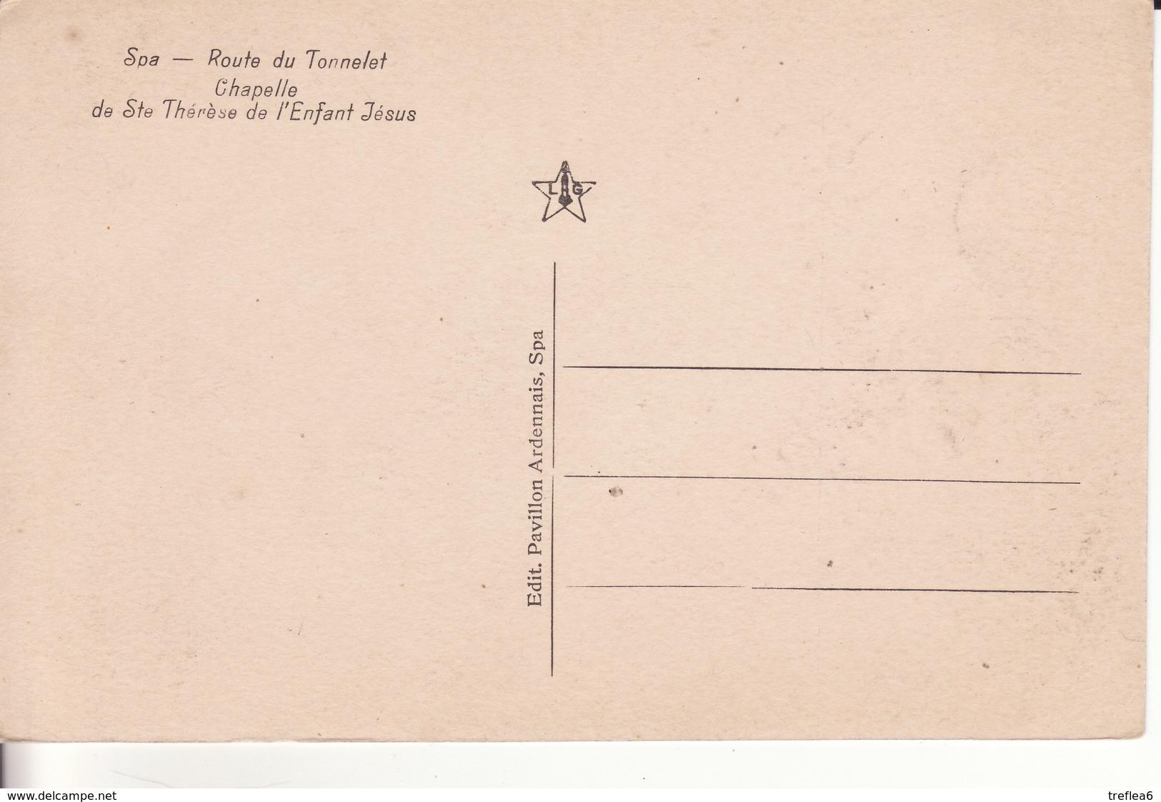 SPA - Route Du Tonnelet Chapelle Sainte Thérèse De L'Enfant Jésus - - Spa