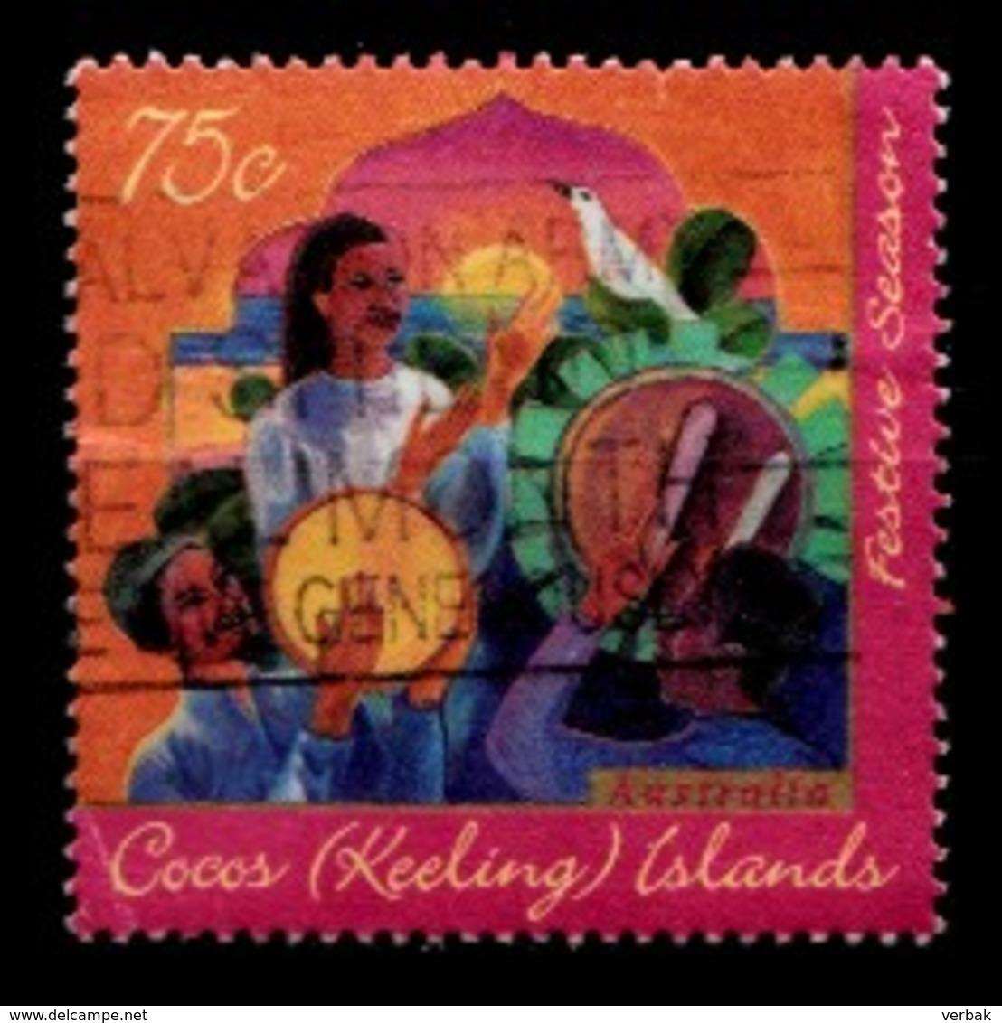 COCOS-ISLANDS 1996 Mi.nr.344 Islamitisches Hari-Raya-Fest Der...  OBLITÉRÉS / USED / GESTEMPELD - Cocos (Keeling) Islands