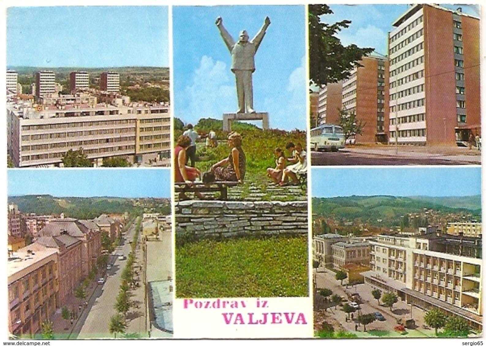 Valjevo- Traveled -FNRJ - Serbie