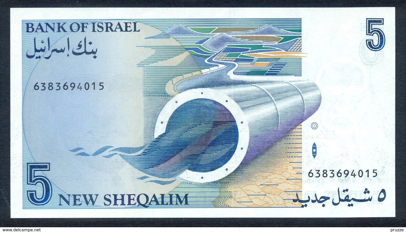 Israel 1985, 5 Sheqalim Schekel 6383694015 - UNC - Israël