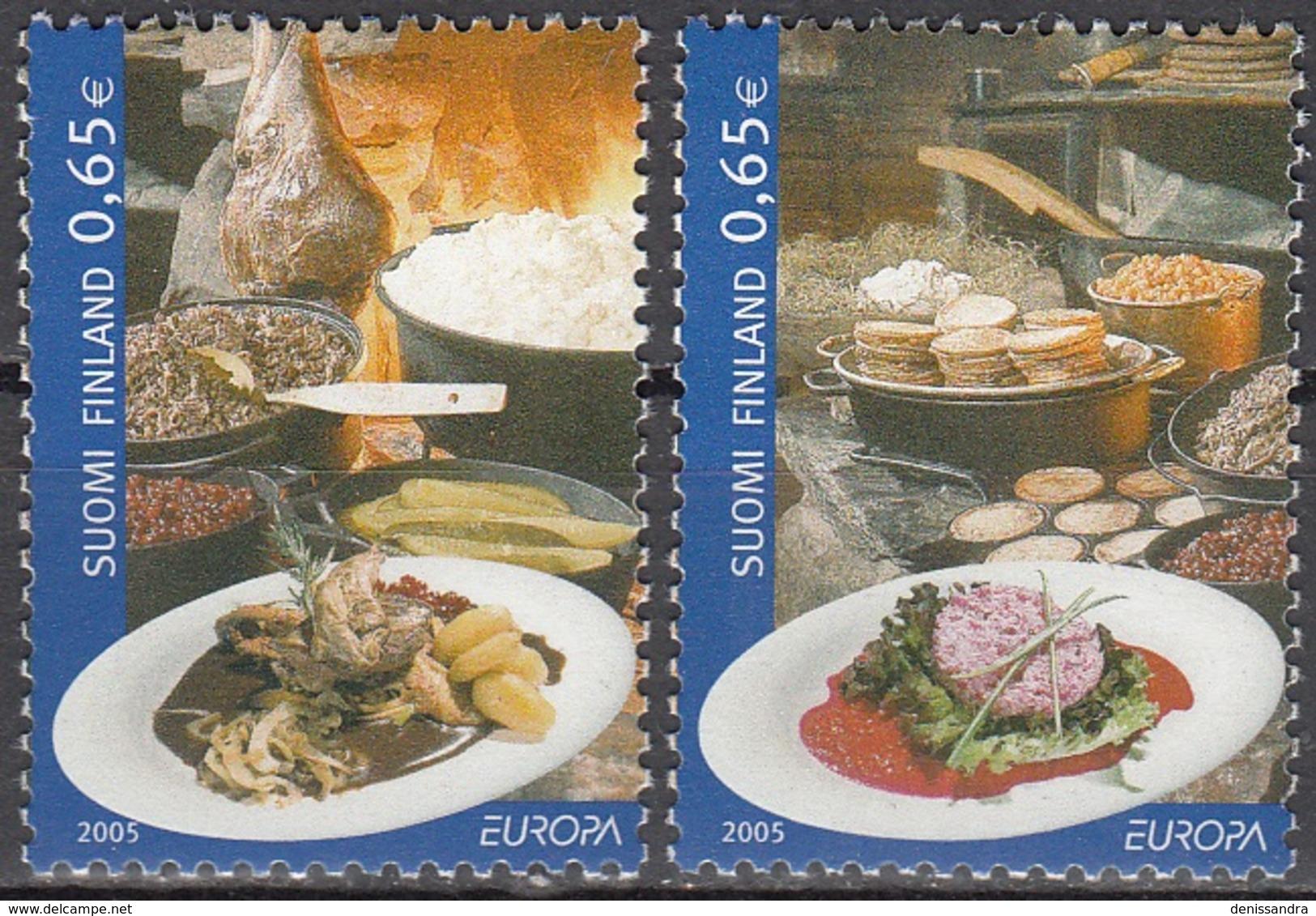 Finland 2005 Michel 1749 - 1750 Neuf ** Cote (2015) 4.00 Euro Europa CEPT La Gastronomie - Finlande