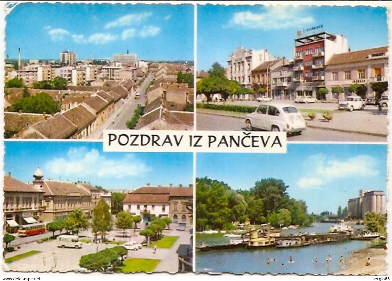 Pancevo-not Traveled FNRJ - Serbie