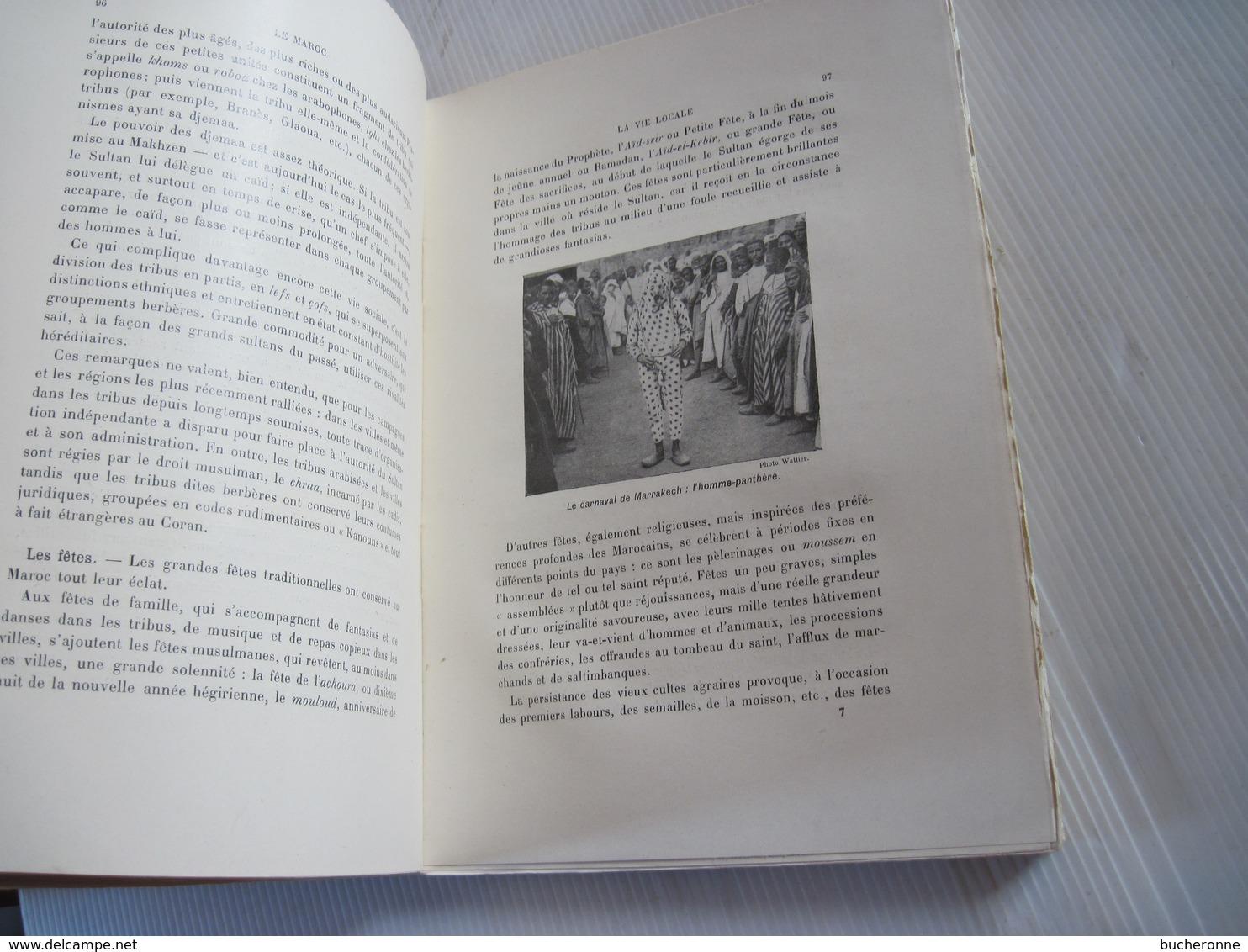 Livre Le Maroc. Choix De Textes Précédés D'une étude, Georges Hardy, Renouard, 1930 Les Colonies Française BE - Histoire