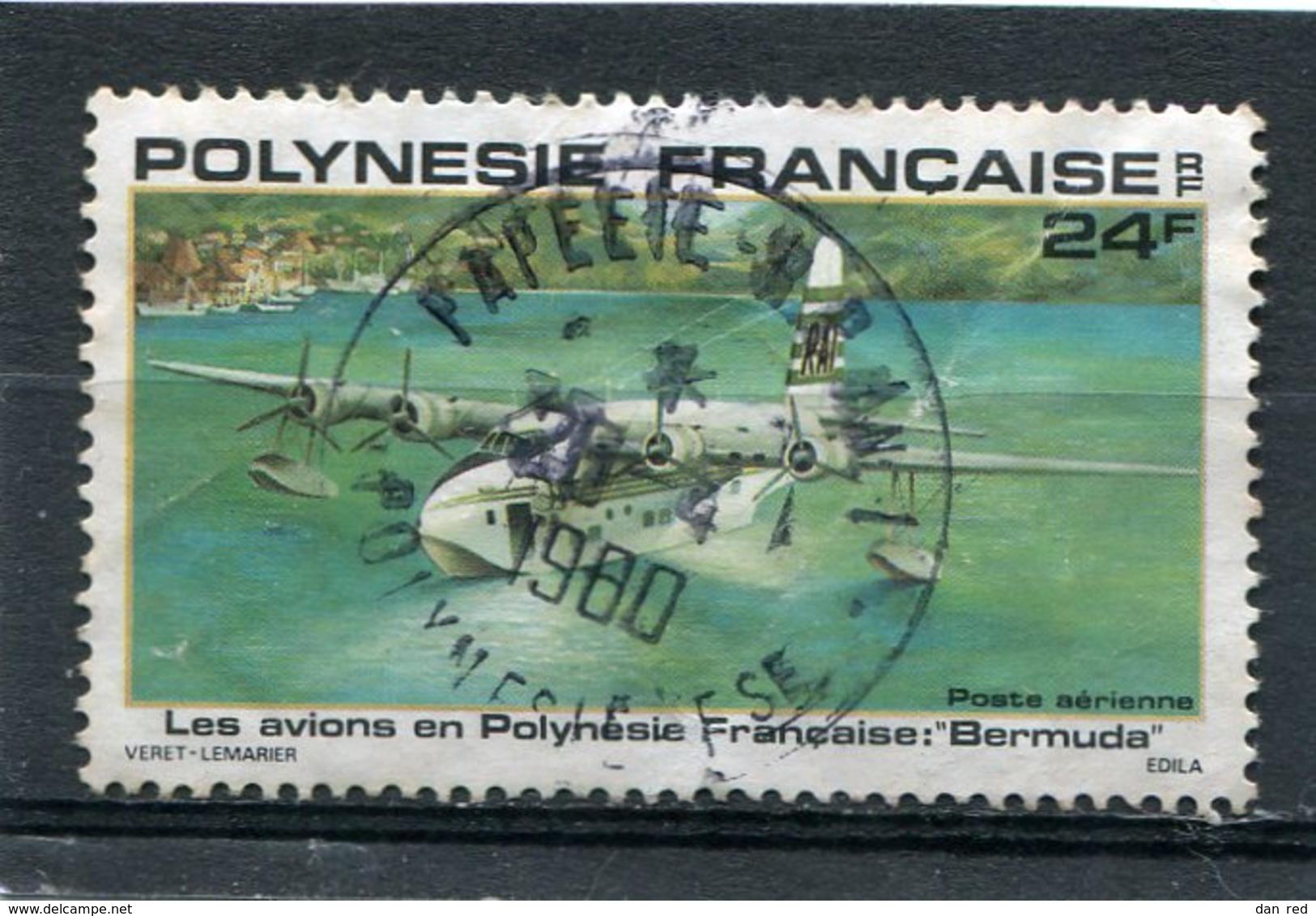 POLYNESIE FRANCAISE   N°  148  PA (Y&T)  (Oblitéré) - Gebruikt