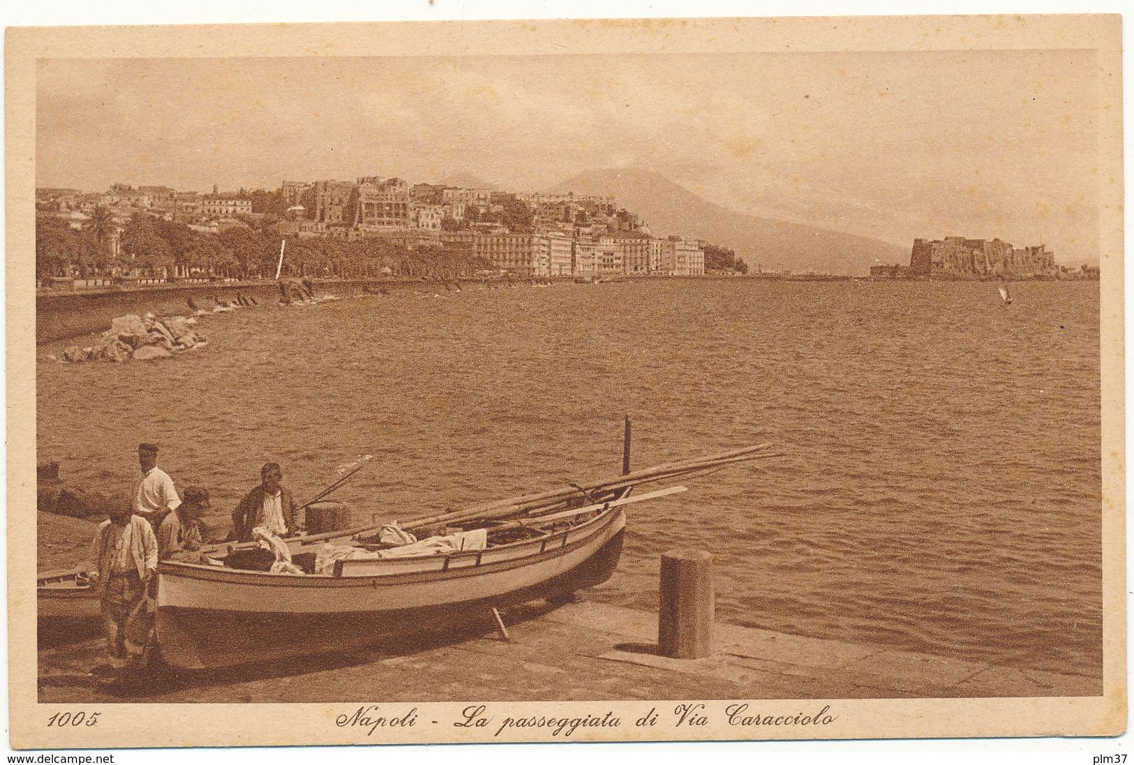 NAPOLI - La Passeggiata... - Editeurs L. & L. - Napoli