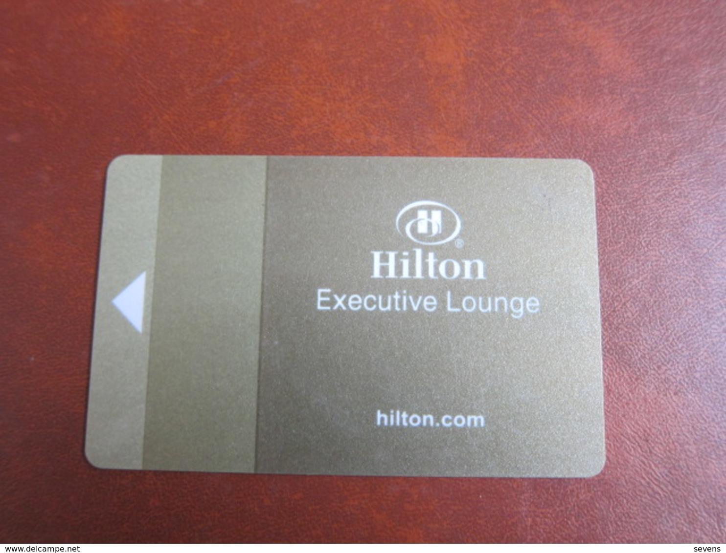 Hilton Executive Lounge - Cartas De Hotels