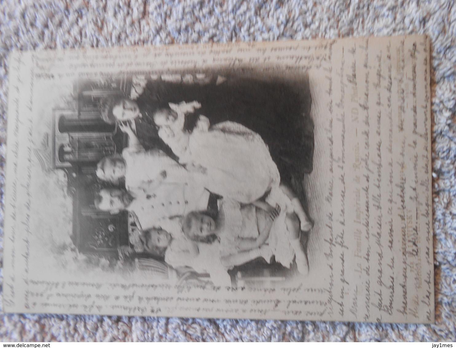 3 Cpa NICOLAS II TSAR DE RUSSIE EMPEREUR DE RUSSIE RUSSIA EMPEROR OF RUSSIA TZAR 1900 ROMANOV - Koninklijke Families