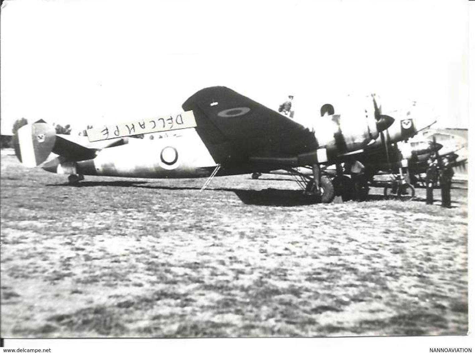 PHOTO AVION LIORé ET OLIVIER LEO 451  ARCHIVE JEAN MOULIN   17X11CM - Aviation
