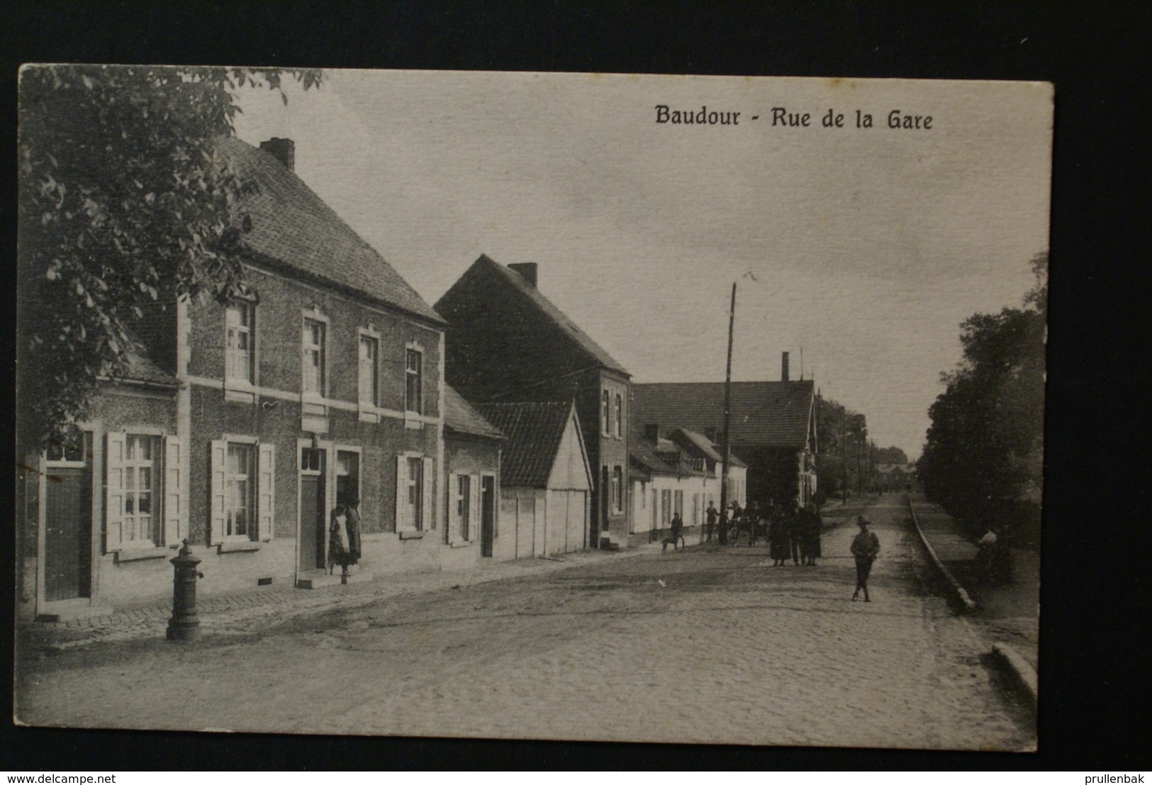 Saint Ghislain - Baudour /  Rue De La Gare - Saint-Ghislain