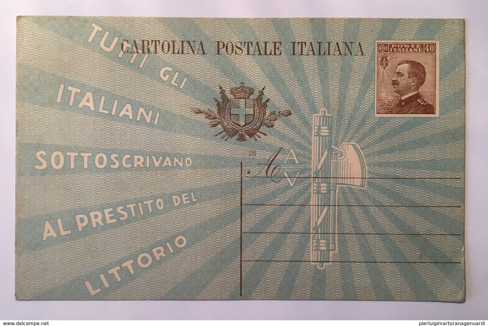30131 A - Tutti Gli Italiani Sottoscrivano Al Prestito Del Littorio - Cartes Postales