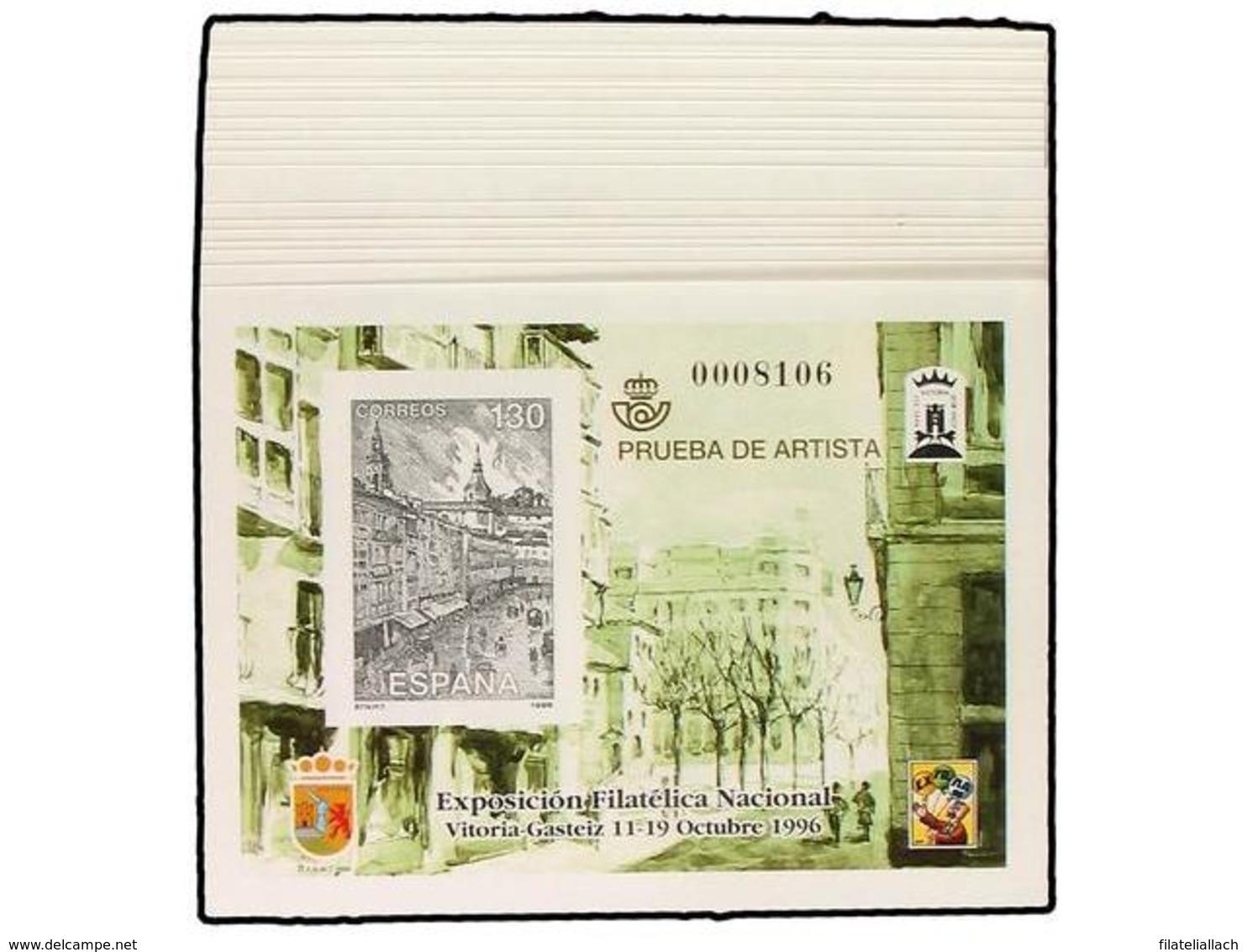 SPAIN: PRUEBAS OFICIALES FNMT - Sin Clasificación