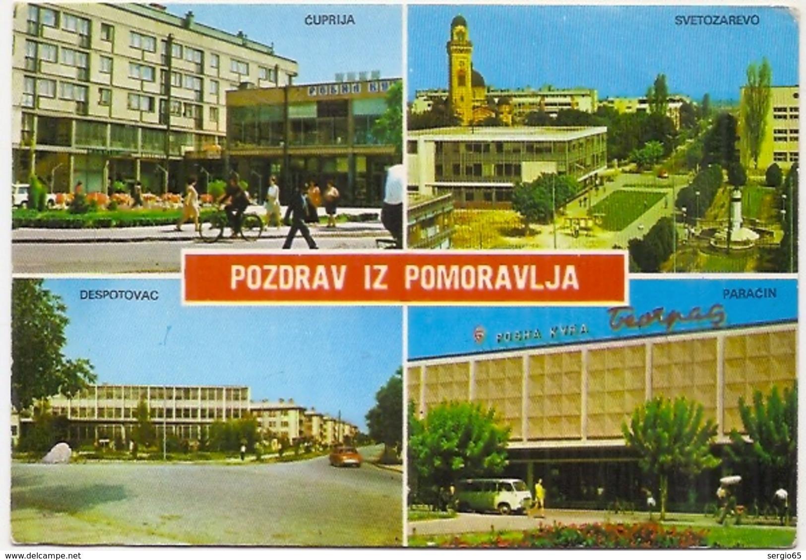 Pomoravlje- Traveled FNRJ - Serbie