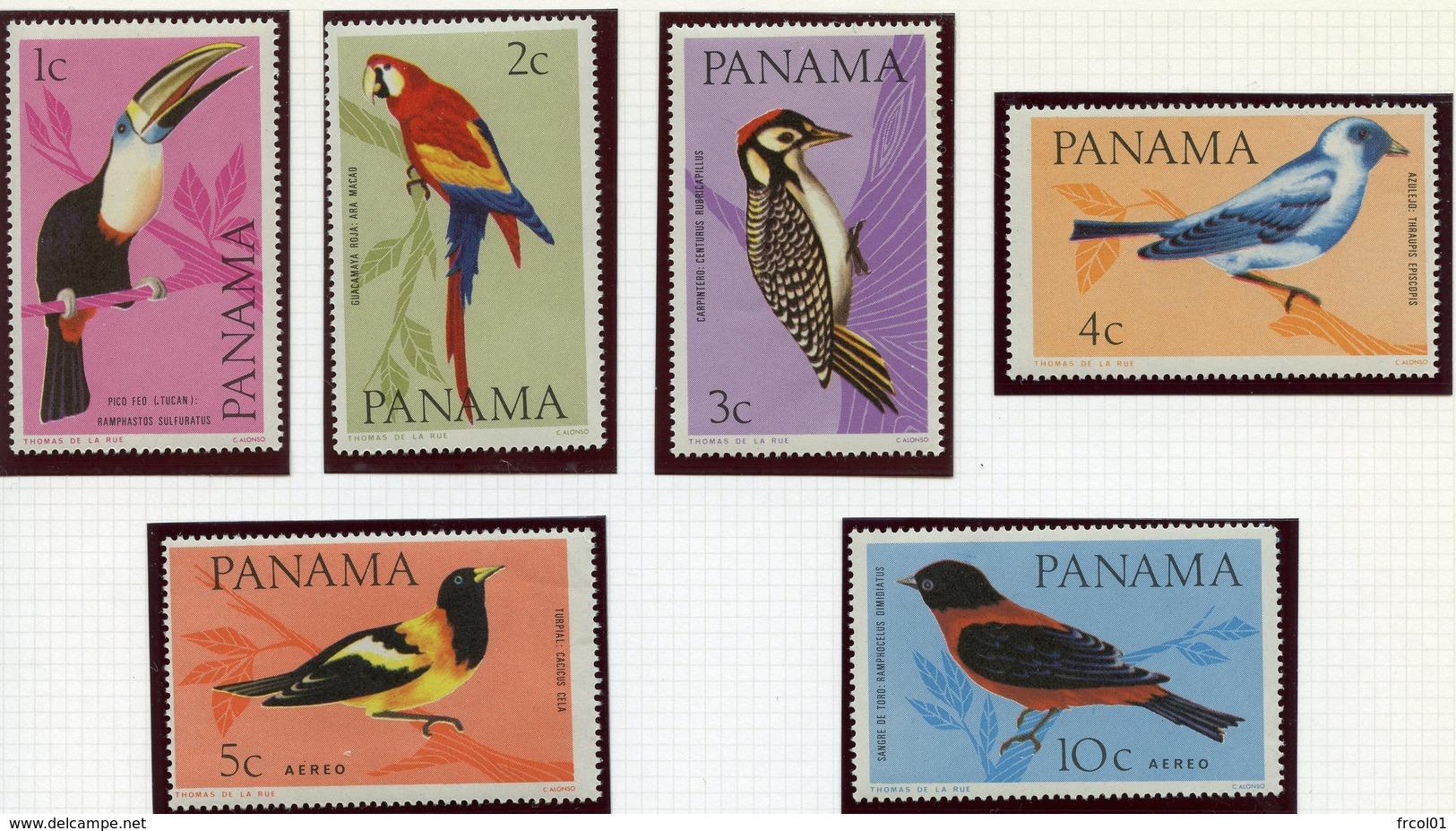 Panama, Yvert 417/420**+PA368&369**, Scott 478/478E**, MNH - Panama