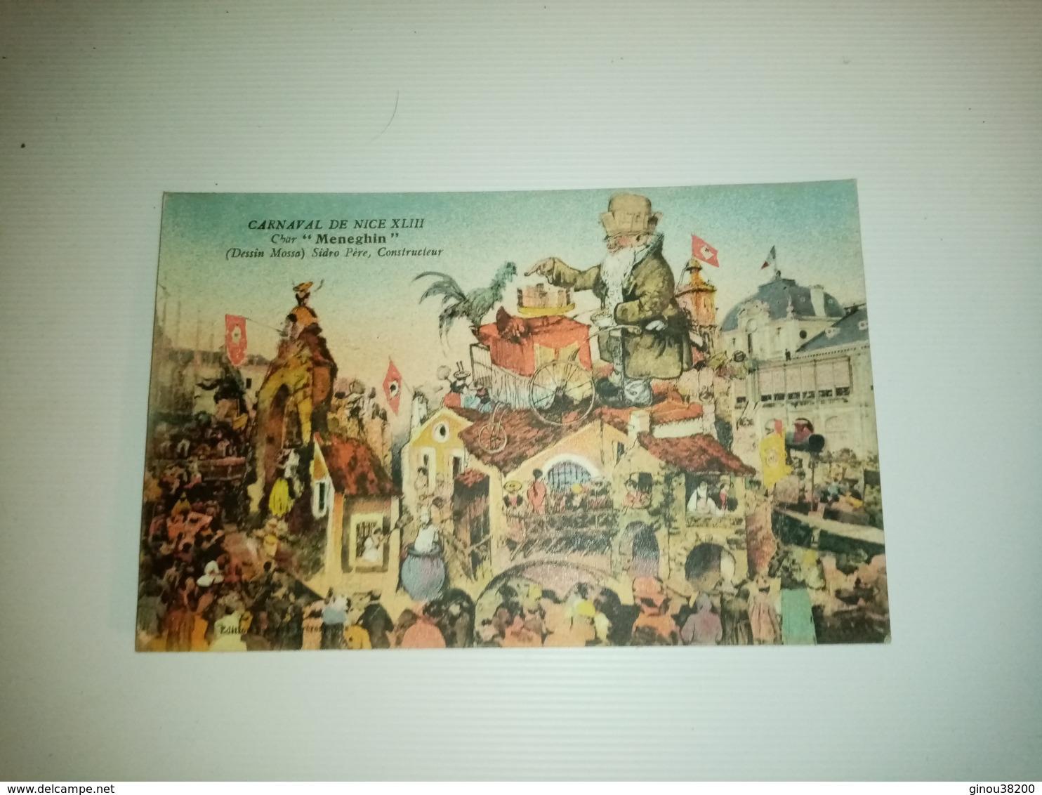 A1:CARNAVAL DE NICE Lot De 6 Cartes - Postales