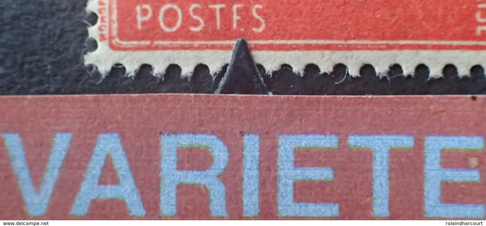 "R1692/812 - 1936 - TYPE SEMEUSE - N°135 (I) NEUF* - VARIETE ➤➤➤ "" POSTF.S "" - Variétés Et Curiosités"