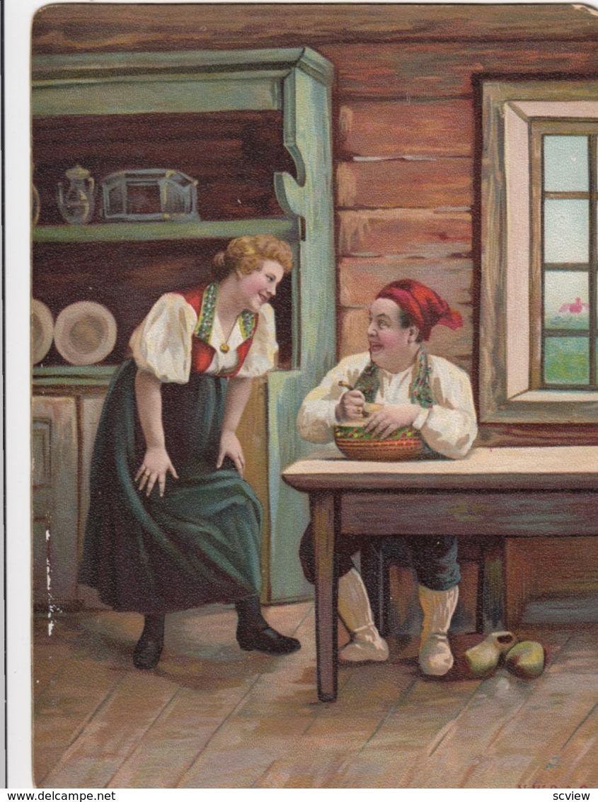 NORWAY , 1890s-1907 ; Native Couple #2 - Norway