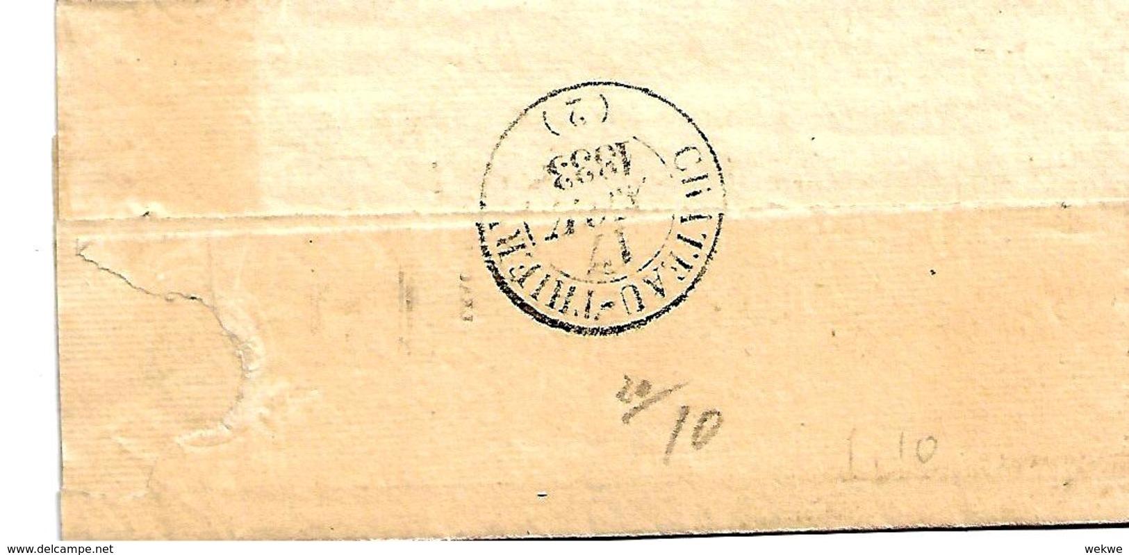 Fp006 / FRANKREICH - Fere-En-Tardenois 1833 Nach Chateau Thierry - 1801-1848: Precursori XIX