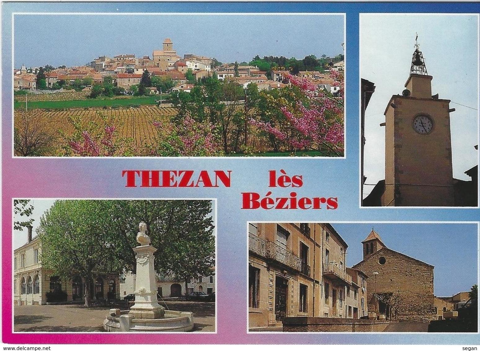 THEZAN LES BEZIERS   MULTIVUES - France
