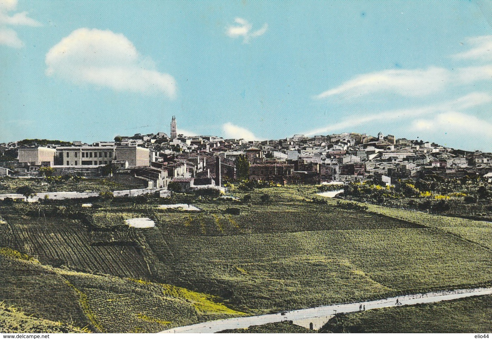 Sicilia - Caltanissetta - Sommatino - Panorama - - Caltanissetta