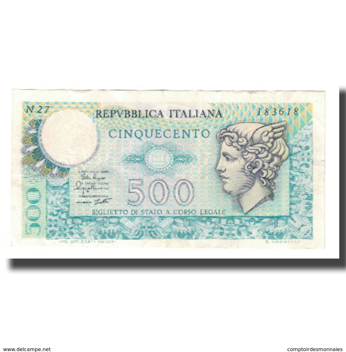 Billet, Italie, 500 Lire, 1974, 1974-02-14, KM:94, SUP - 500 Lire