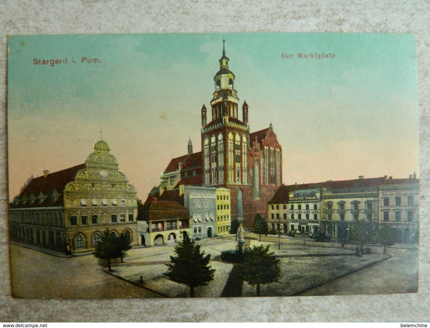 STARGARD               DER MARKTPLATZ - Pologne