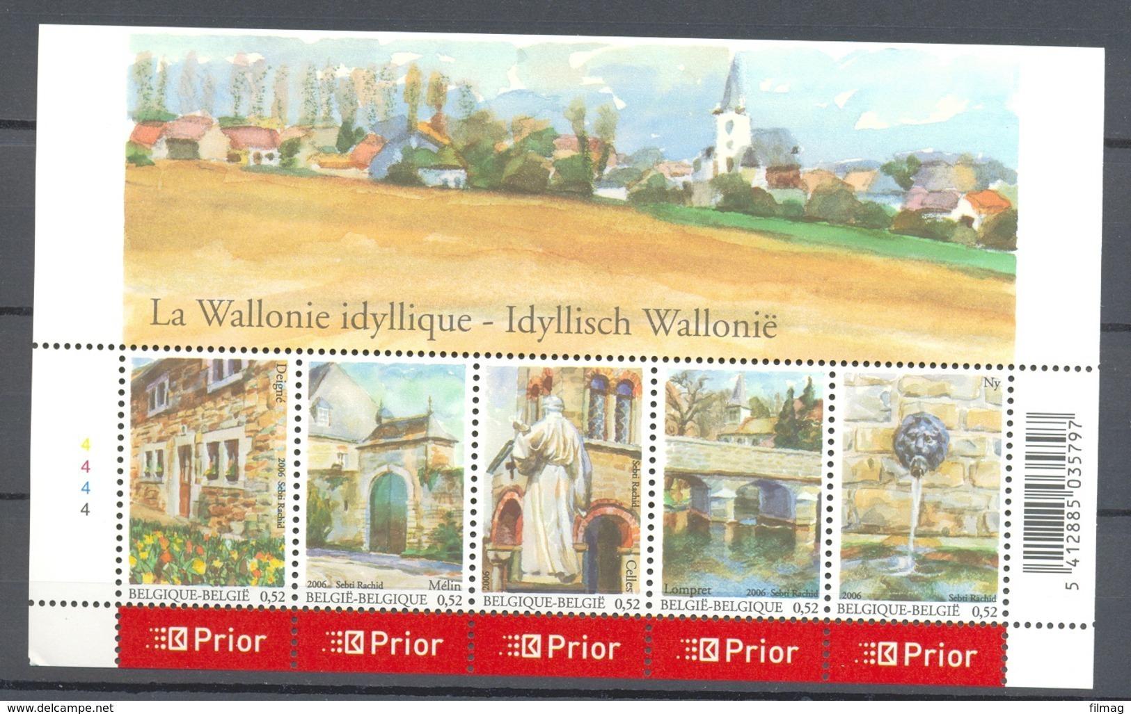 Blok 132 Idyllisch Wallonie  POSTFRIS** 2006 - Blocks & Kleinbögen 1962-....