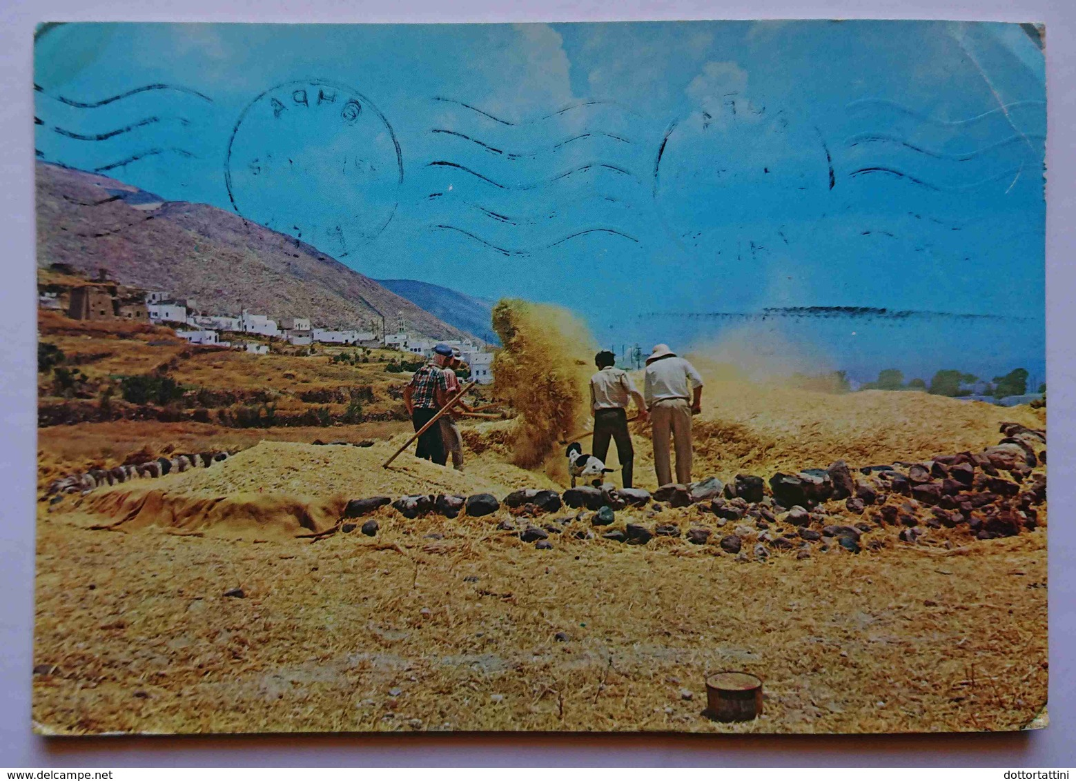 THERA - Greece - Hors Du Village Emporeion - Vg - Grecia