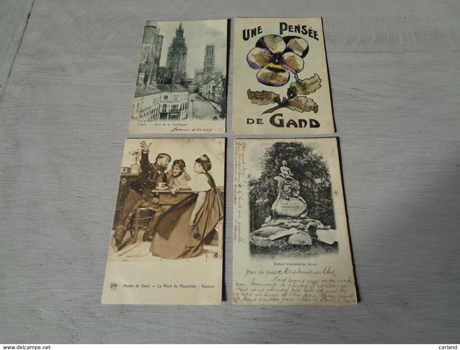 Beau Lot De 20 Cartes Postales De Belgique  Gand     Mooi Lot Van 20 Postkaarten Van België  Gent  - 20 Scans - 5 - 99 Postkaarten