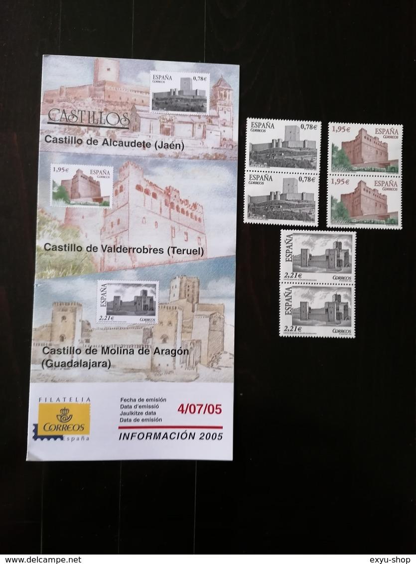 SPAIN 2005 - CASTILLOS - CASTLES - 1931-Today: 2nd Rep - ... Juan Carlos I