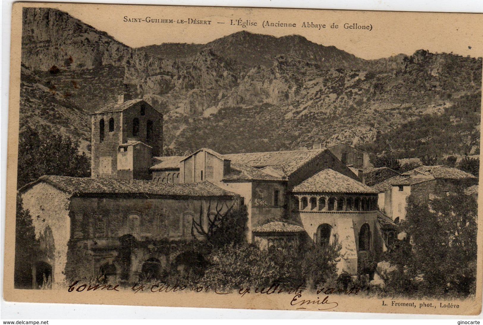 St Saint Guilhem Le Desert L'eglise - France