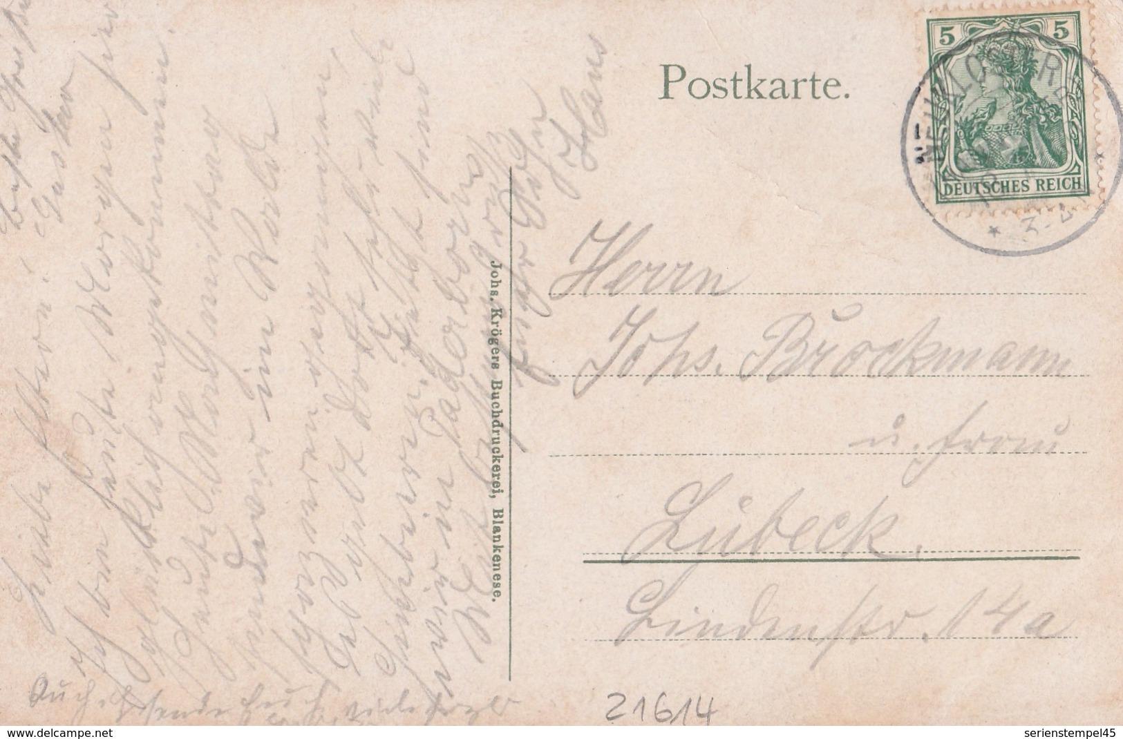 Deutsches Reich Karte Mit Tagesstempel Neukloster Hannover 1910 KOS Stempel Kurhotel Paterborn Neukoster - Germany