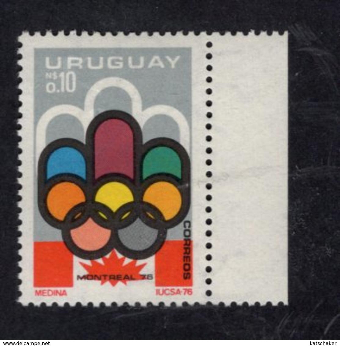 891146143 1976 SCOTT 938 POSTFRIS MINT NEVER HINGED EINWANDFREI (XX) - OLYMPICS - Uruguay