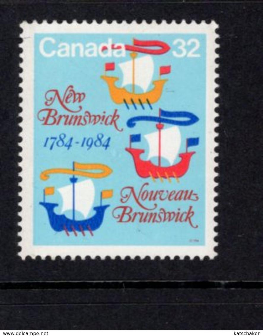 891155953 1984 SCOTT 1014 POSTFRIS MINT NEVER HINGED EINWANDFREI (XX) - NEW BRUNSWICK BICENTENARY - 1952-.... Regering Van Elizabeth II