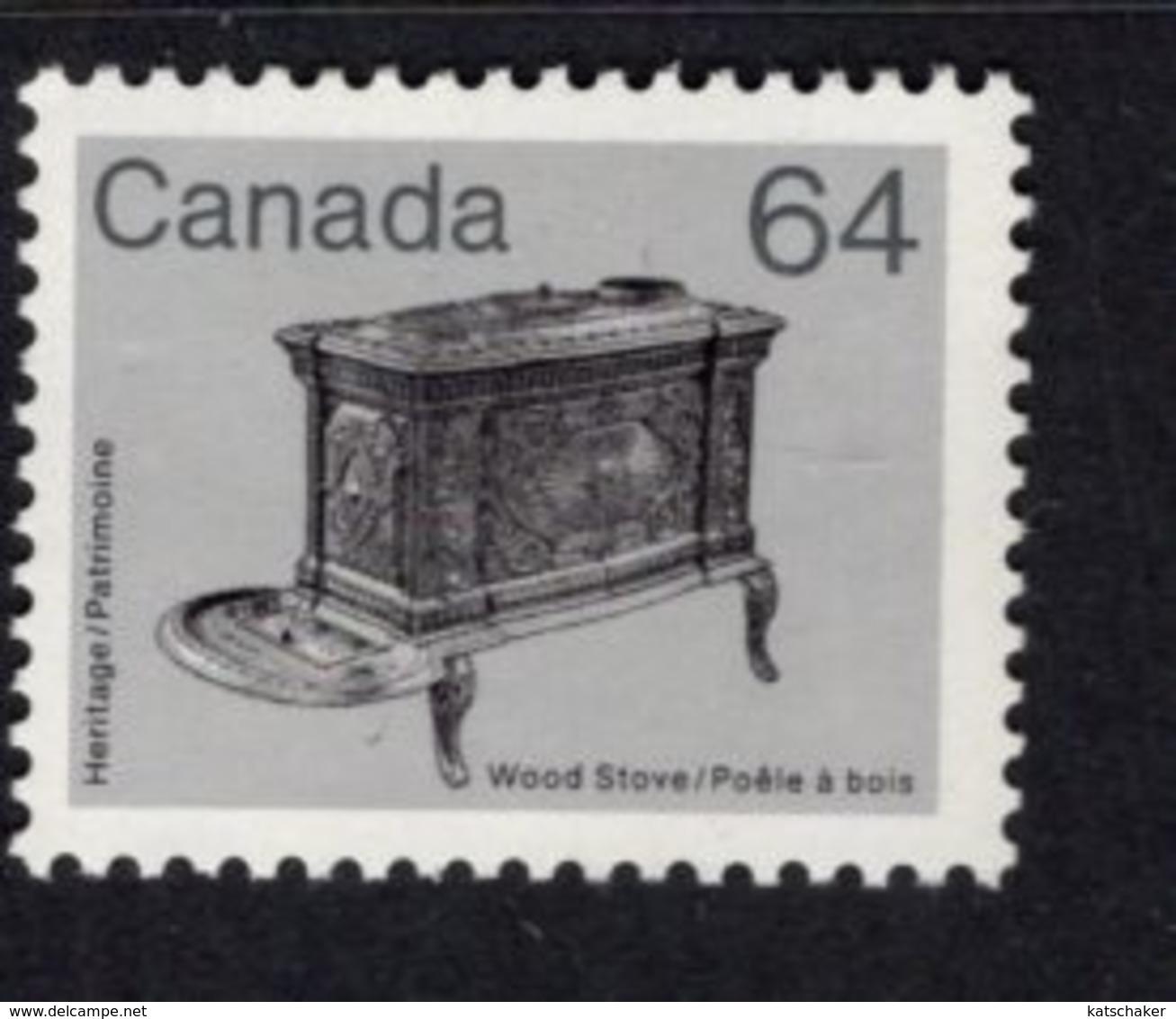 891166792 1985 SCOTT 932 POSTFRIS MINT NEVER HINGED EINWANDFREI (XX) - WOOD STOVE - 1952-.... Regering Van Elizabeth II
