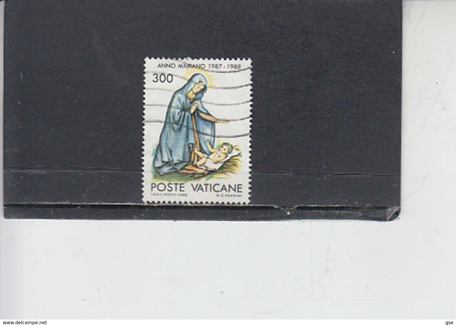 VATICANO 1988 - Sassone 832 - Anno Mariano - Vaticano (Ciudad Del)