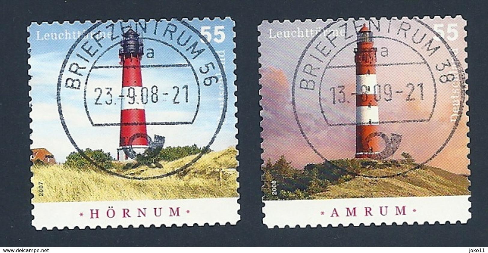 Deutschland, 2008, Mi.-Nr. 2682-2683,  Gestempelt - BRD