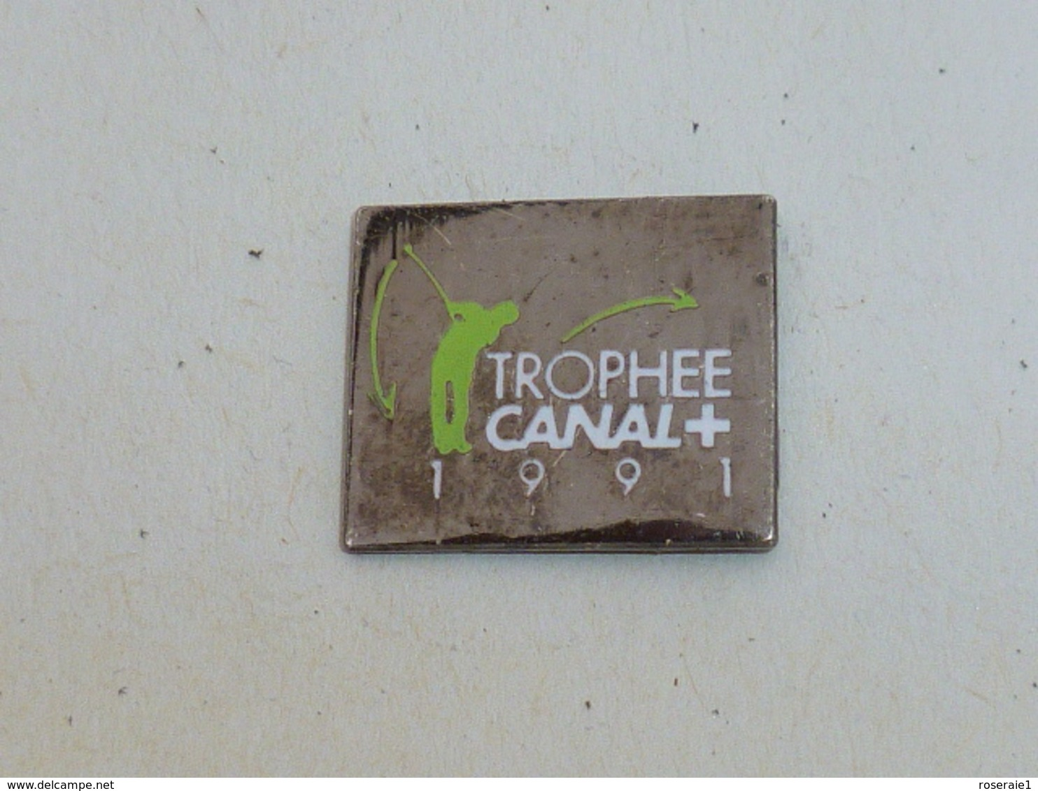 Pin's GOLF, TROPHEE CANAL PLUS 1991 - Golf
