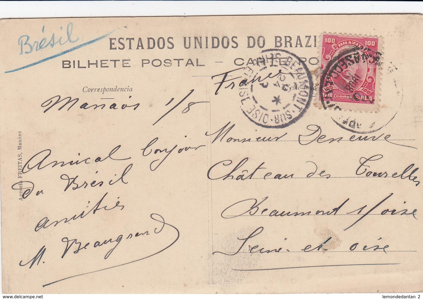 MANAOS (Brasil) - Quartel Dos Bombeiros Voluntarios - Manaus