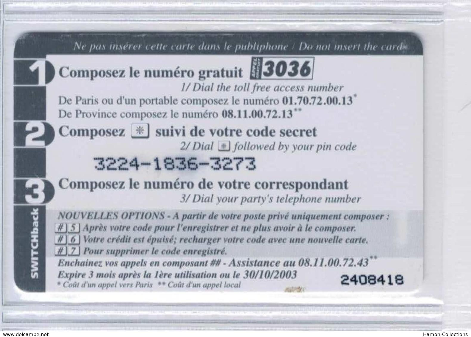 TOP COLLECTION  - Carte Prépayée Française - Voir Scans - Francia