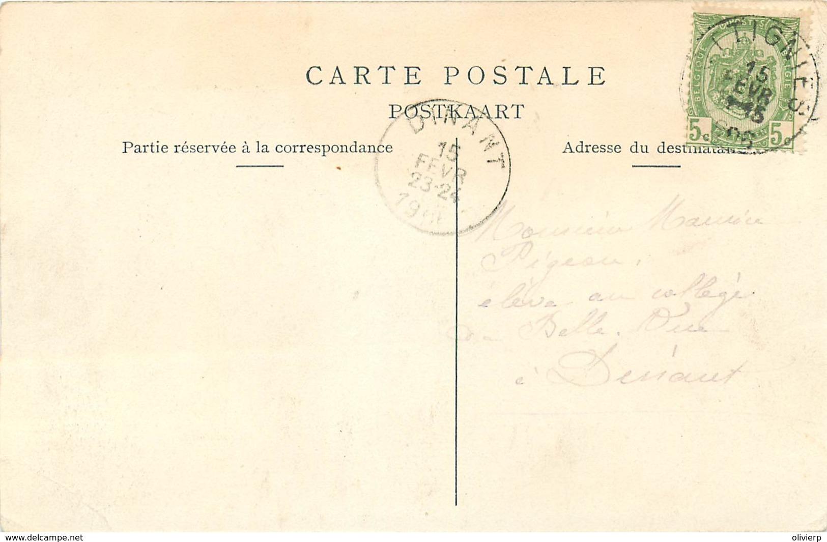 Belgique - Ottignies - Rue Du Pont - Café De La Dyle-  F. Lhoost Menuisier Pour Escaliers - Ottignies-Louvain-la-Neuve