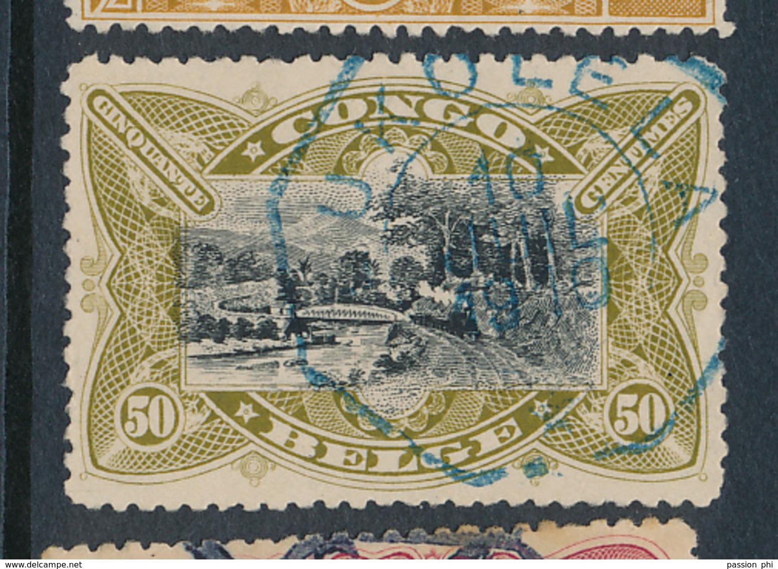 BELGIAN CONGO COB 53 USED LUKOLELA ONE STAR - Congo Belge
