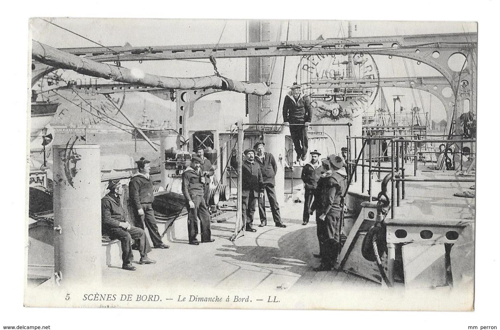 (25443-00) Scènes De Bord - Le Dimanche à Bord - Manovre