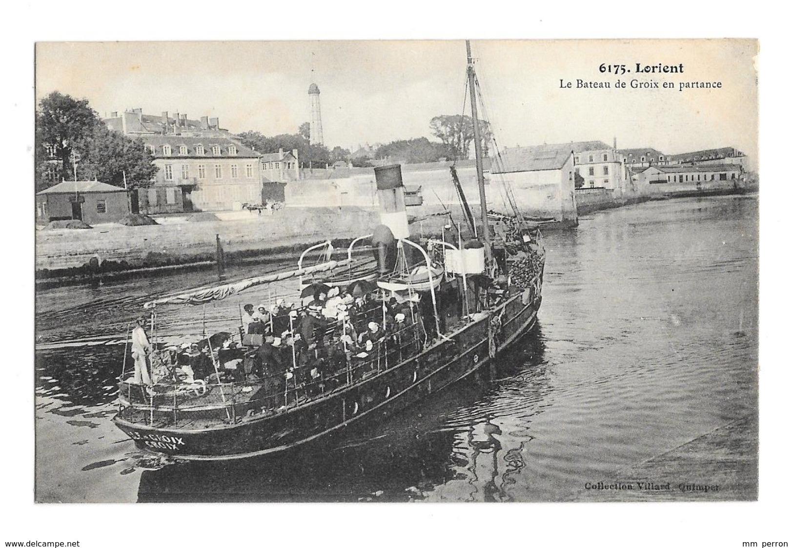 (25466-56) Lorient - Le Bateau De Groix En Partance - Pontivy