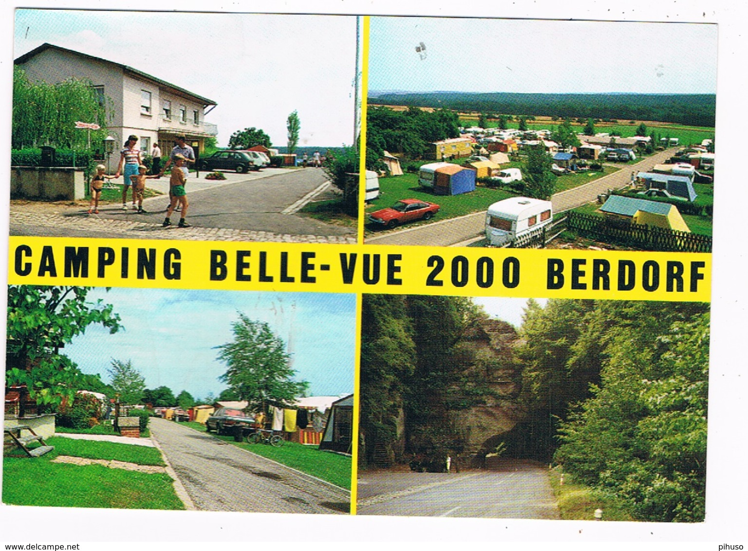 L-2321   BERDORF : Camping Belle-Vue 2000 - Berdorf