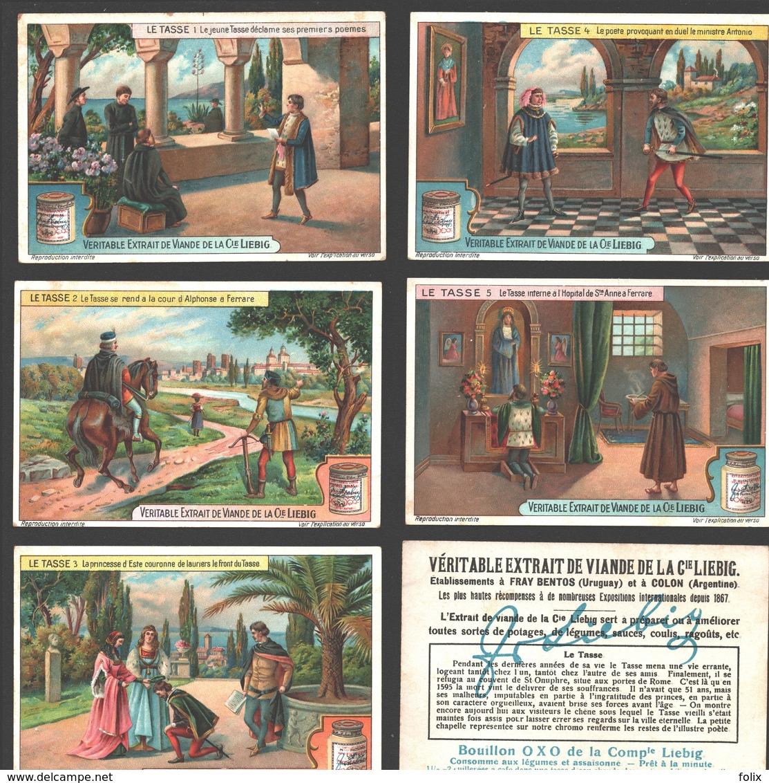 Liebig - Vintage Chromos - Series Of 6 / Série Complète - Le Tasse - Français - Liebig