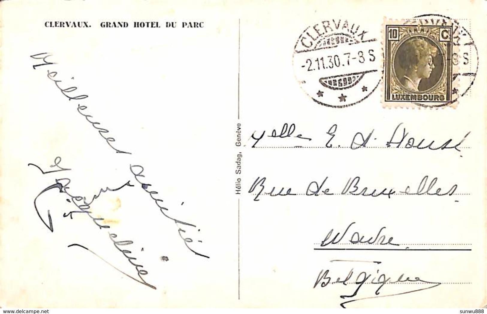 Clervaux - Grand Hotel Du Parc (1930) - Clervaux