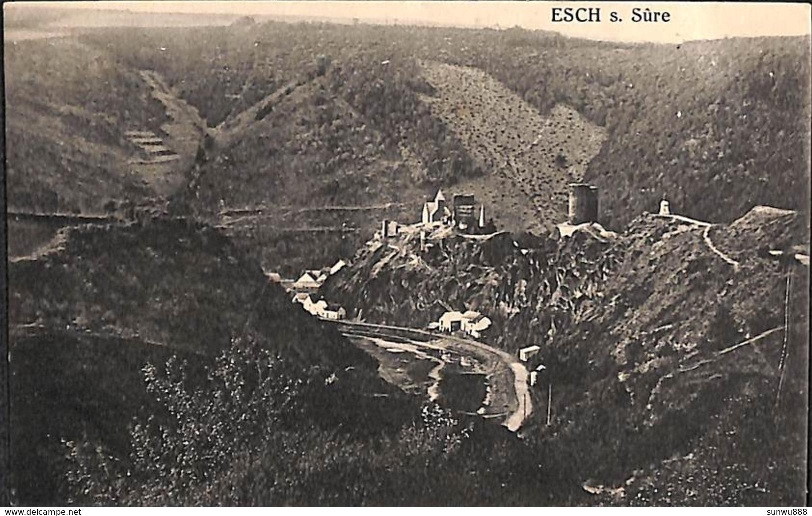 Esch S. Sûre - Panorama (Photo J. Kaemmerer) - Esch-sur-Sure